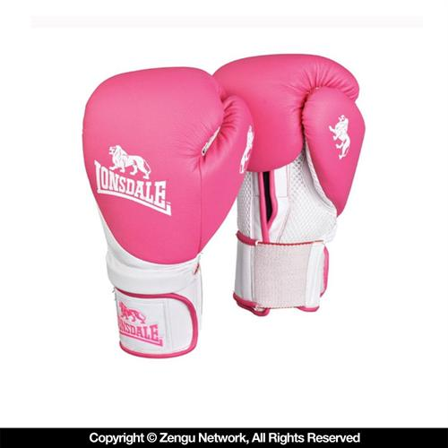 Lonsdale Lonsdale Club Pink Training Gloves